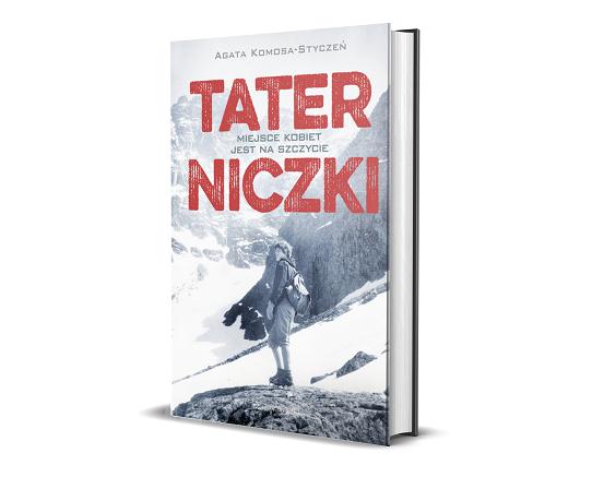 Taterniczki: okładka książki o polskich taterniczkach