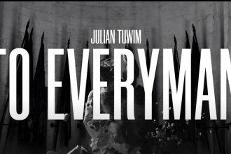Animacja To Everyman - dzieło inspirowane wierszem Tuwima Animacja To Everyman