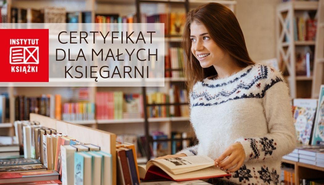 Certyfikat dla małych księgarni
