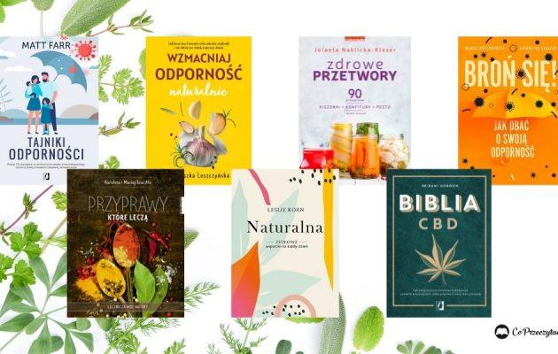 Odporność - poradniki książkowe na jesień. 7 tytułów
