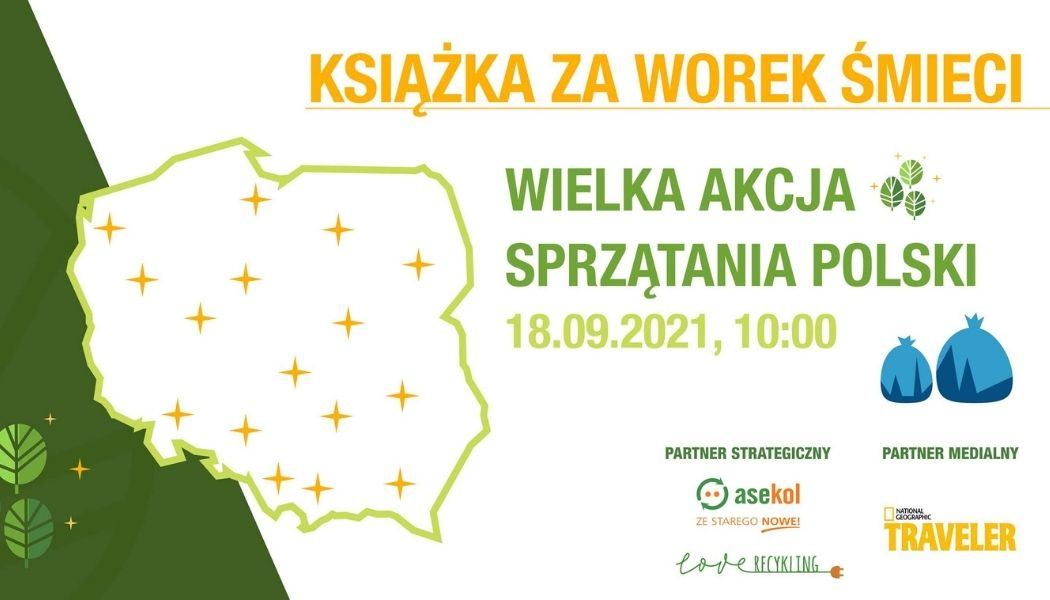 Książka za worek śmieci Książki przyrodnicze znajdziesz na TaniaKsiazka.pl >>