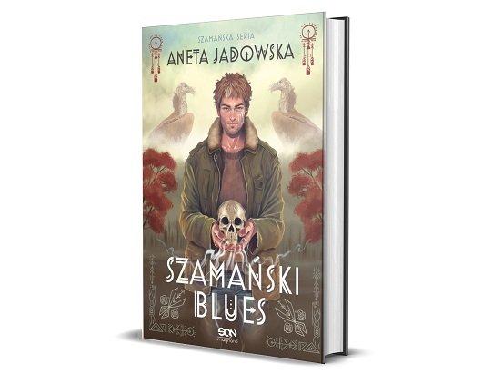 Szamański blues Anety Jadowskiej - okładka