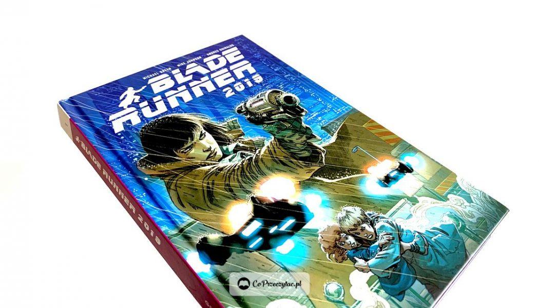 Recenzja komiksu Blade Runner 2019. Komiks znajdziesz na TaniaKsiazka.pl