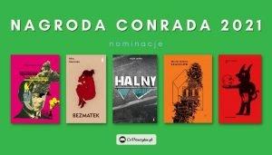 Nagroda Conrada 2021 - nominacje. 5 najlepszych debiutów 2020